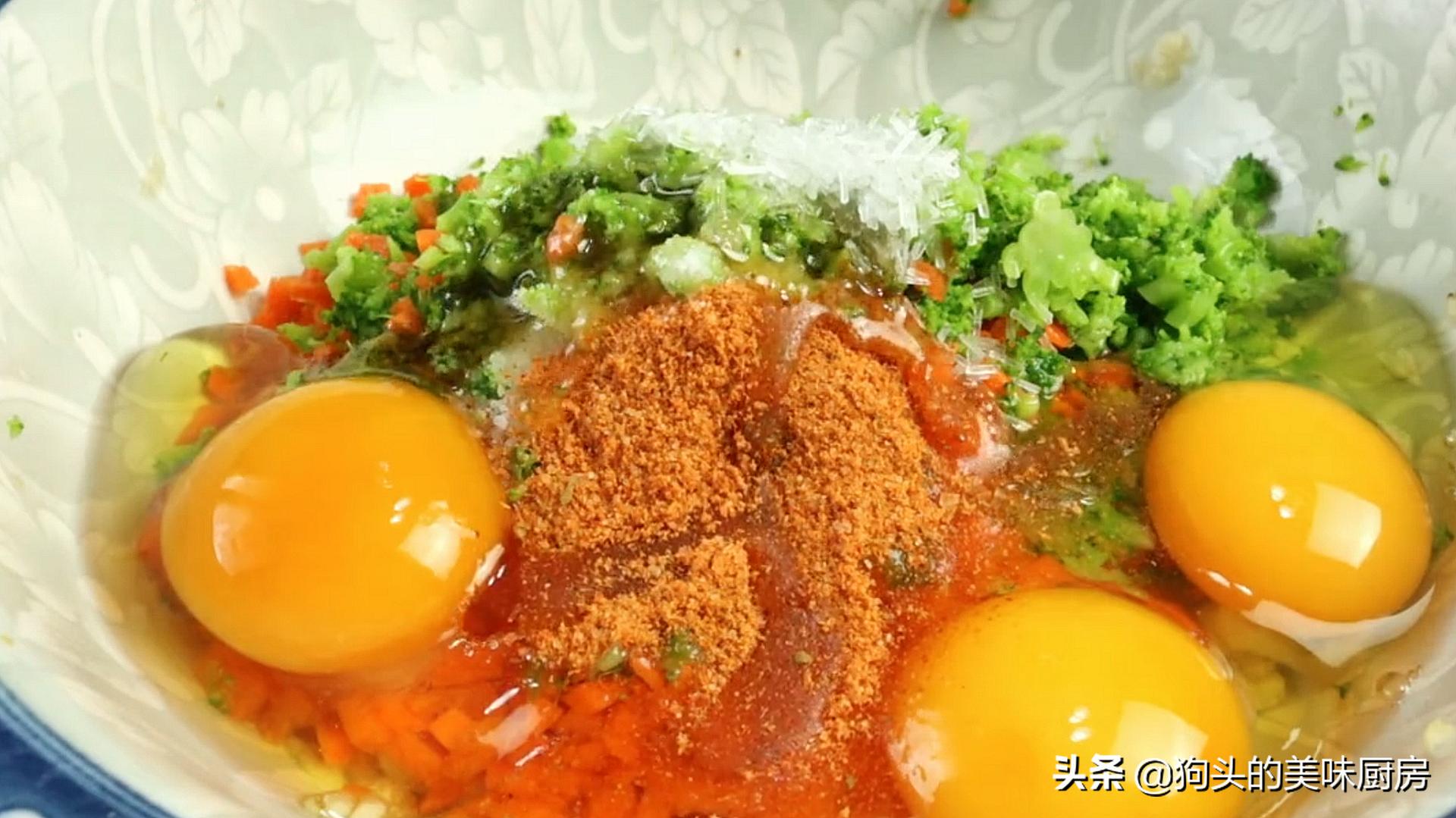 这几样食材真搭,裹在一起拌一拌,入锅简单一煎,好吃还补钙 美食做法 第11张