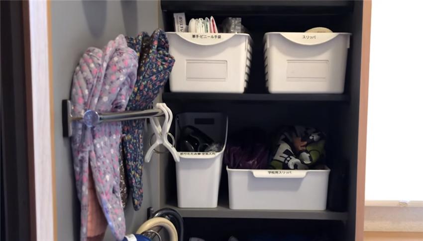 小玄关怎么放下大量鞋子?日本主妇的高效收纳法,简单且易用