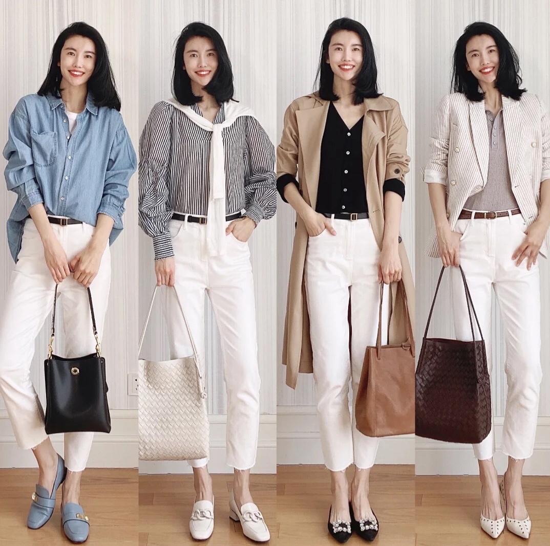 6条常见裤子穿搭分享,春夏这么穿,时髦好看