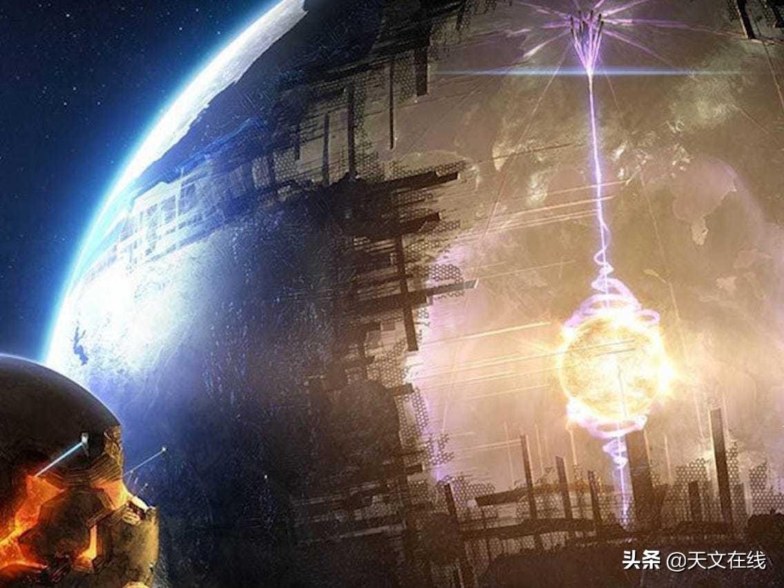 外星人的巨厦?是宇宙大爆炸的产物还是它们的杰作?