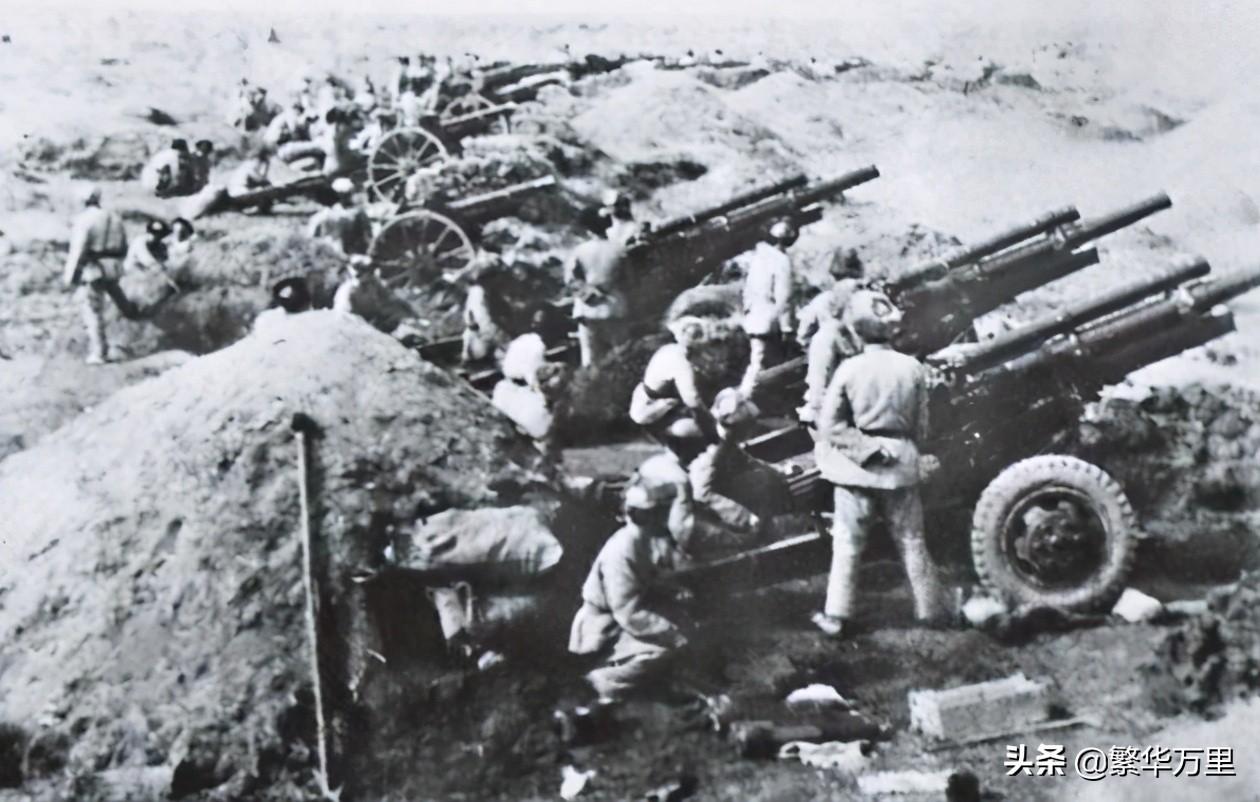 解放军的55个纵队,作战经验丰富,一个纵队到底多少兵力?