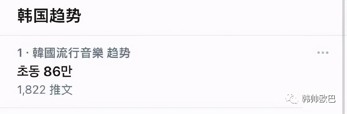 这位男团爱豆新专初动突破86万张,话题还登上了韩趋第一