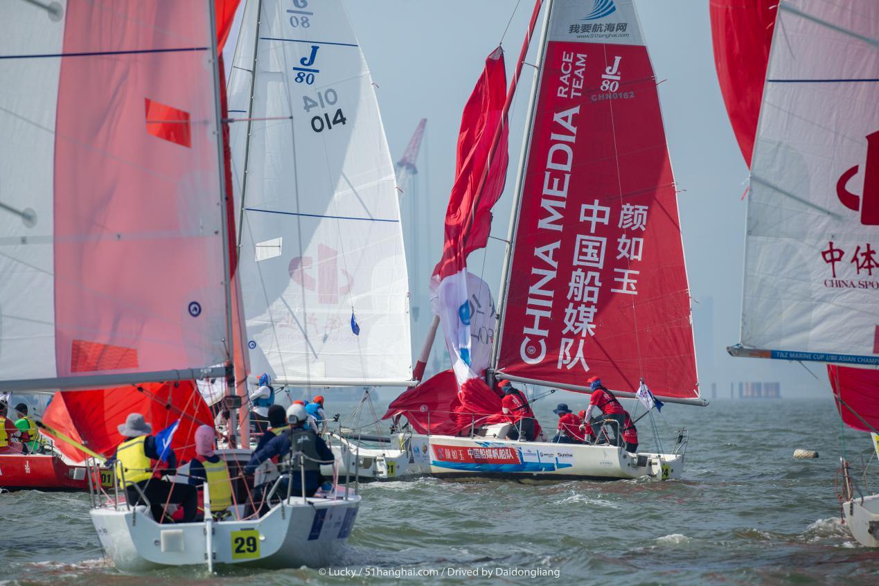 中国俱乐部杯帆船赛结束 中国船媒队再度挑战自我