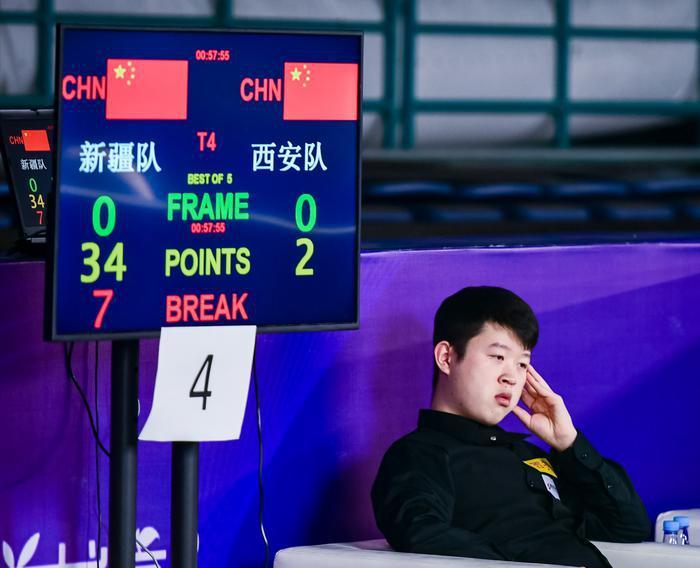 全国斯诺克团体锦标赛西安开幕,蔡剑忠、杨擎天等名将同场竞技