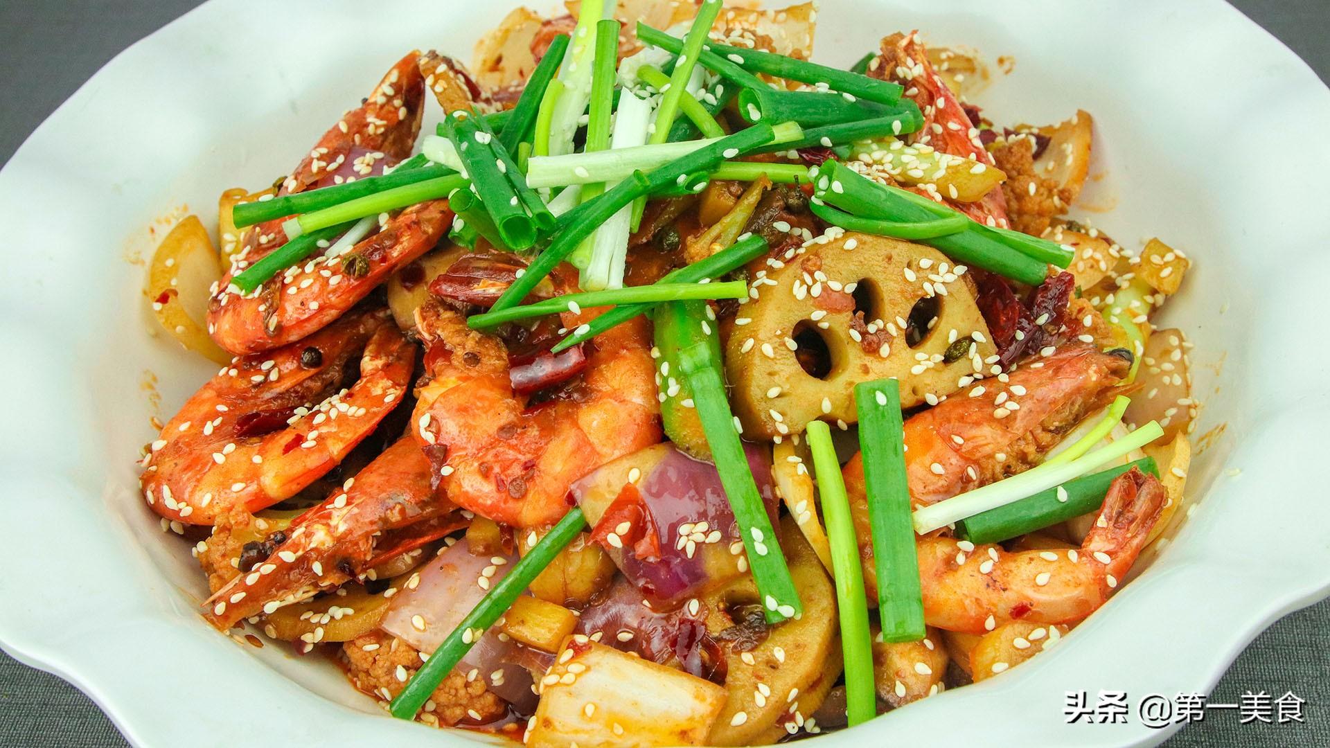 麻辣香锅怎么做才好吃,原来这么简单,学会这个技巧,色泽鲜艳 第12张