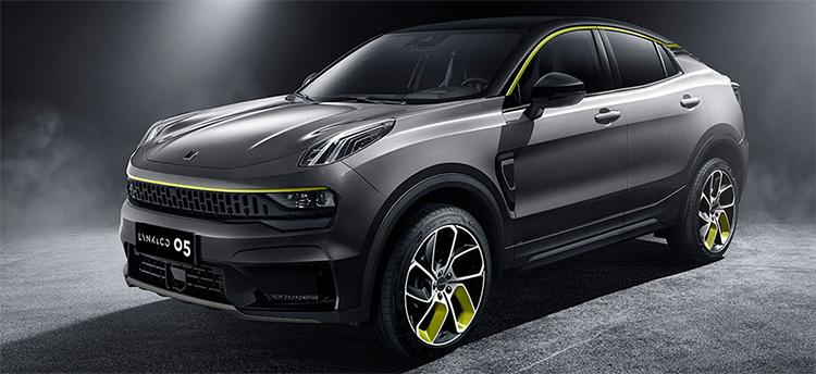 领克05正式上市:定位紧凑级轿跑SUV 售价17.58万起