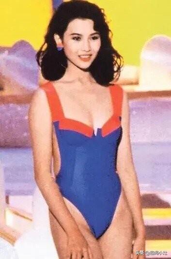 17岁出道,获得香港小姐季军:蔡少芬年轻的时候很美