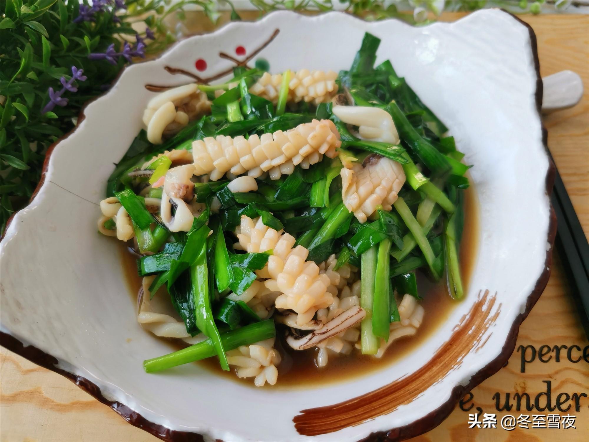 12道韭菜的做法,鲜香味美,鲜味十足 美食做法 第5张