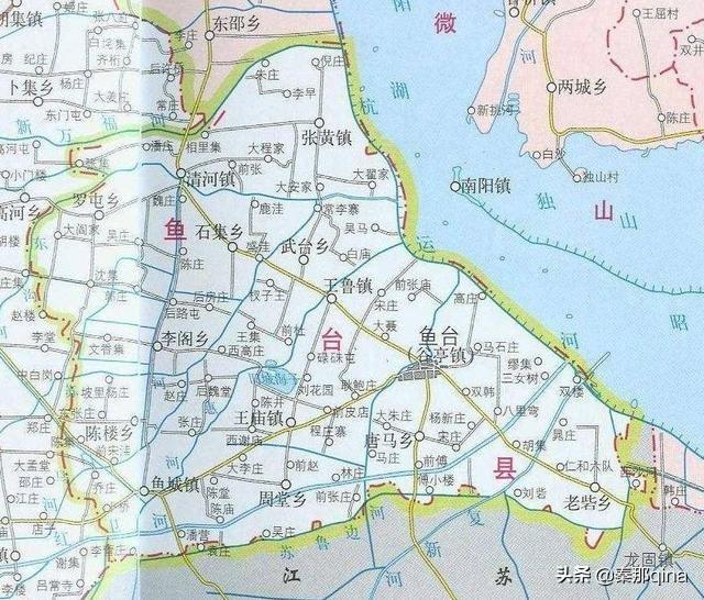 """山东济宁鱼台县----古称方与,有江北""""鱼米之乡""""之称"""