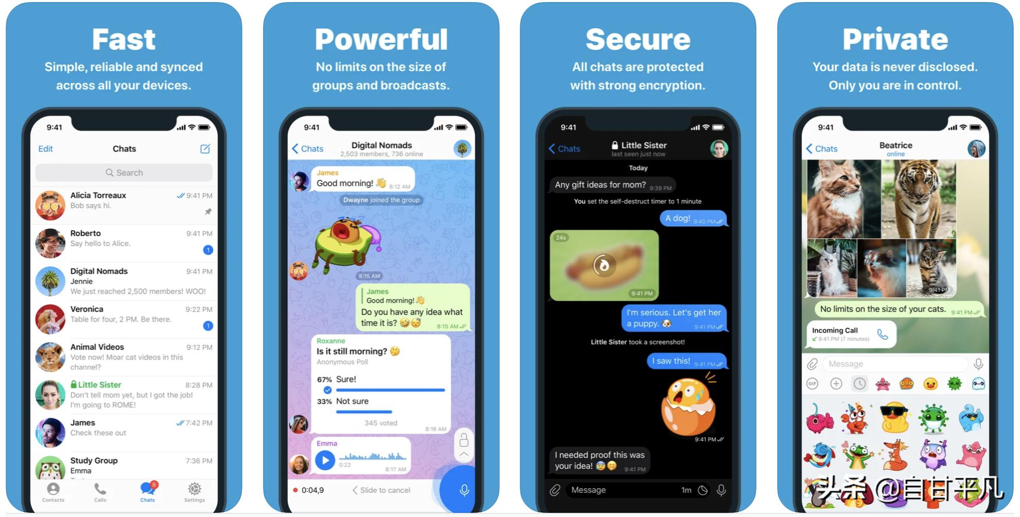 2021 年 5 款最安全的即时通讯软件保护你的隐私不被窃取
