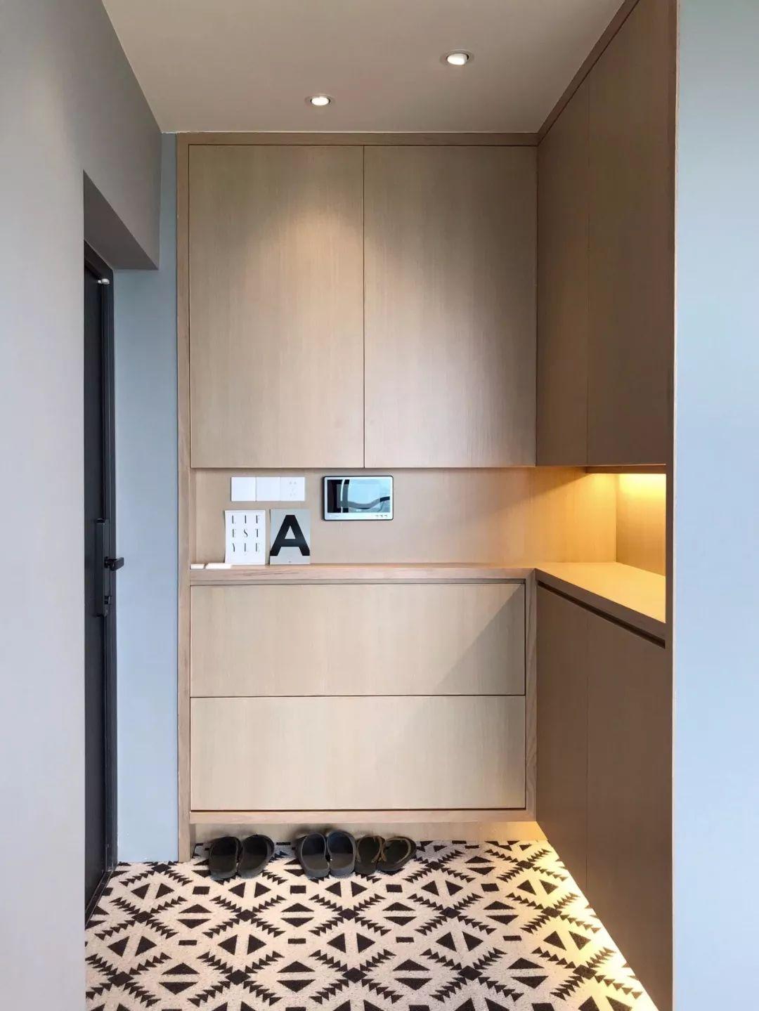 一进门全是鞋!是时候定制个整体鞋柜,让鞋子有个整齐干净的家