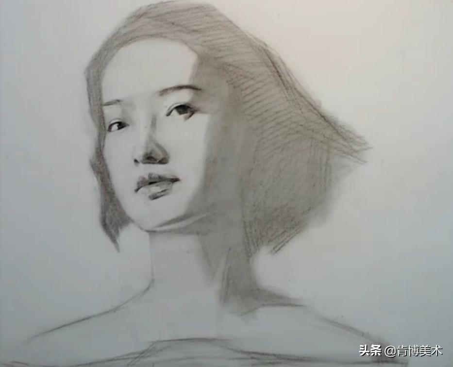 这样画素描人像,学会这7步,零基础不容错过的绘画步骤教程