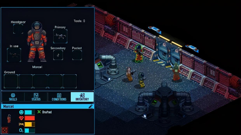 一款超庞大的太空沙盒生存类模拟经营游戏