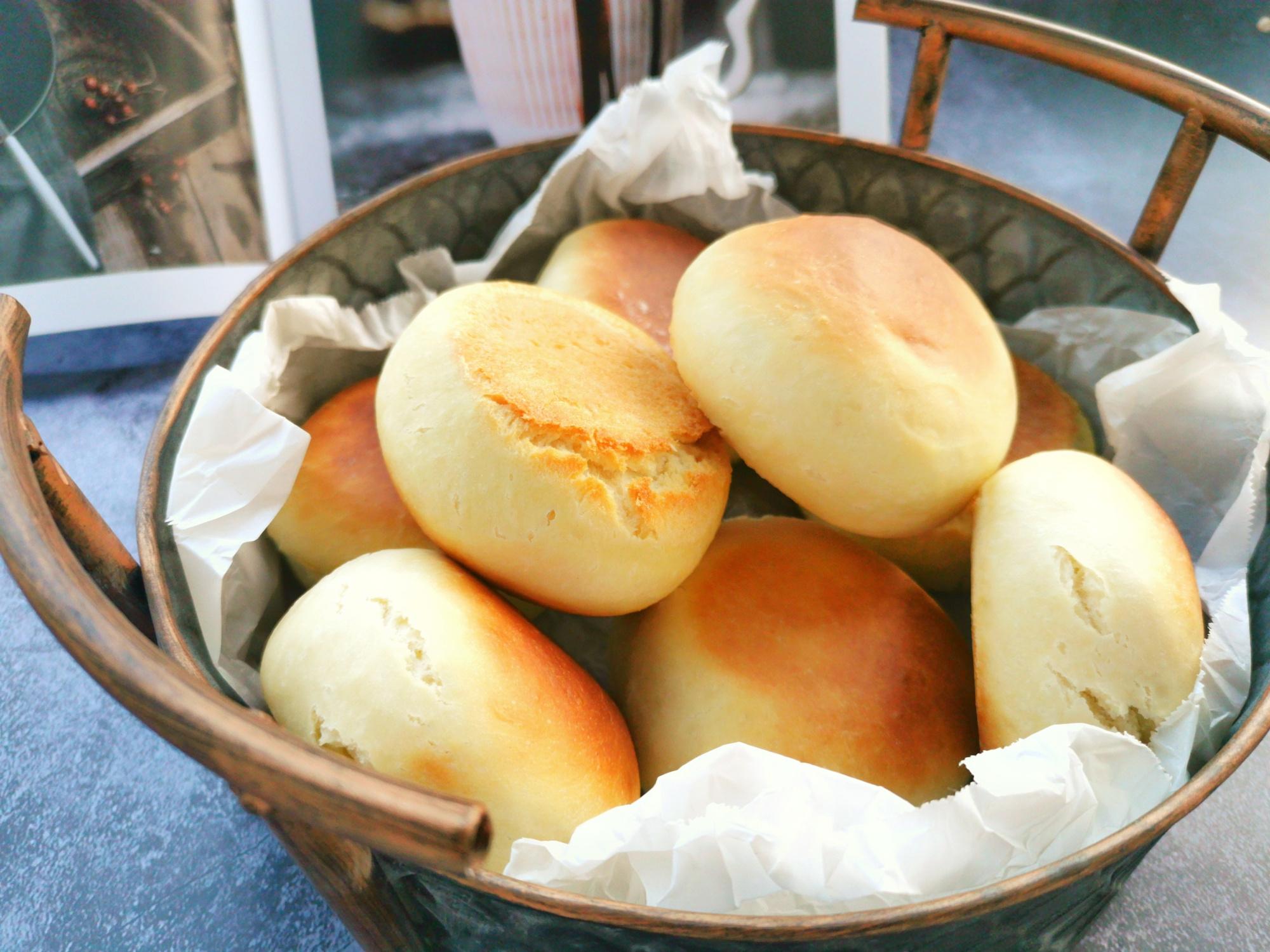最好吃的中式麵包,1碗麵粉3個雞蛋,不用水和麵,電餅鐺也能做