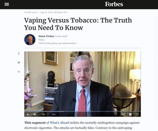 """被误解、被""""妖魔化""""的电子烟,真的""""有害""""吗?"""