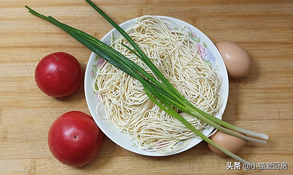 【西红柿鸡蛋炒面】做法步骤图 鲜香味美比肉都好吃 孩子特别