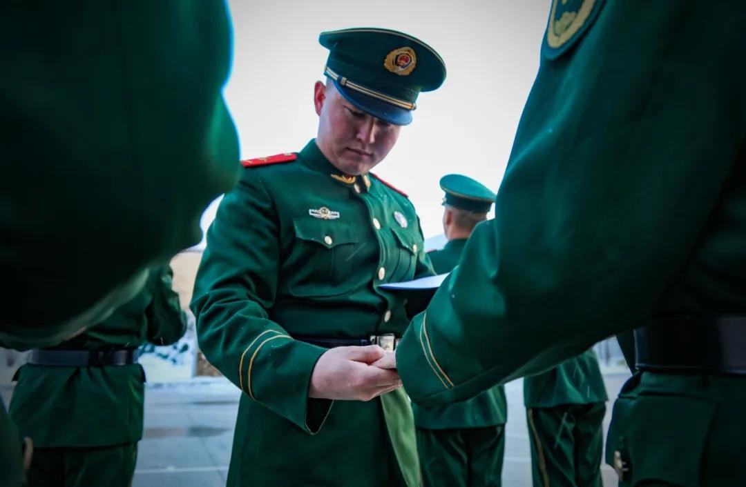 """武警<a href=http://www.cngansu.cn/ target=_blank class=infotextkey>甘肃</a>总队甘南支队:收假收心""""组合拳"""",战友们请查收"""