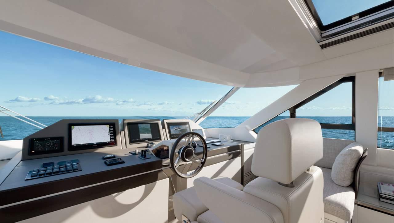 MCY 70 Skylounge 飞桥游艇,一艘超级漂亮的游艇,你心动了吗