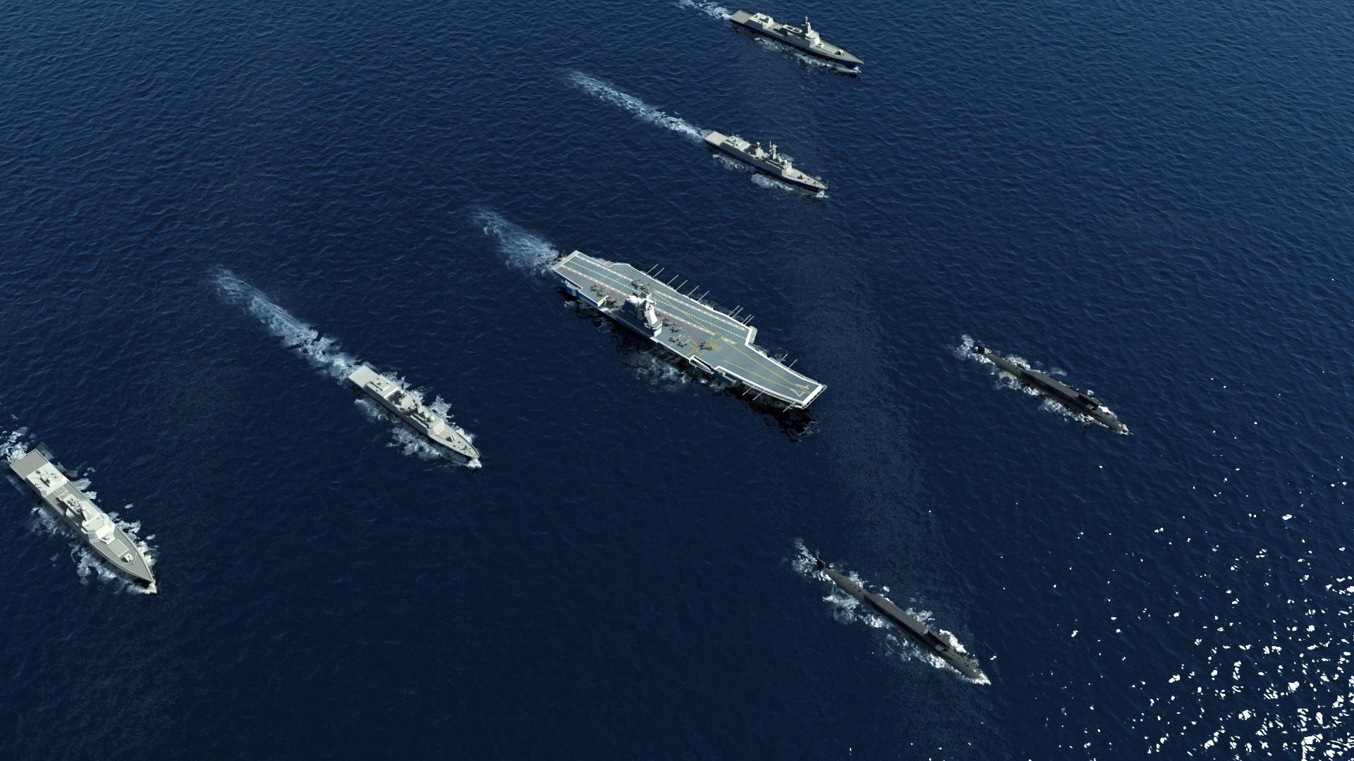 俄专家称中美航母对决,中国有高超音速武器也会输,美军凭什么?