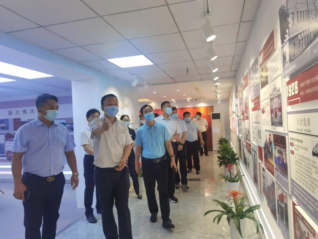 bet9九州最新官网赴南京、杭州考察学习党建工作