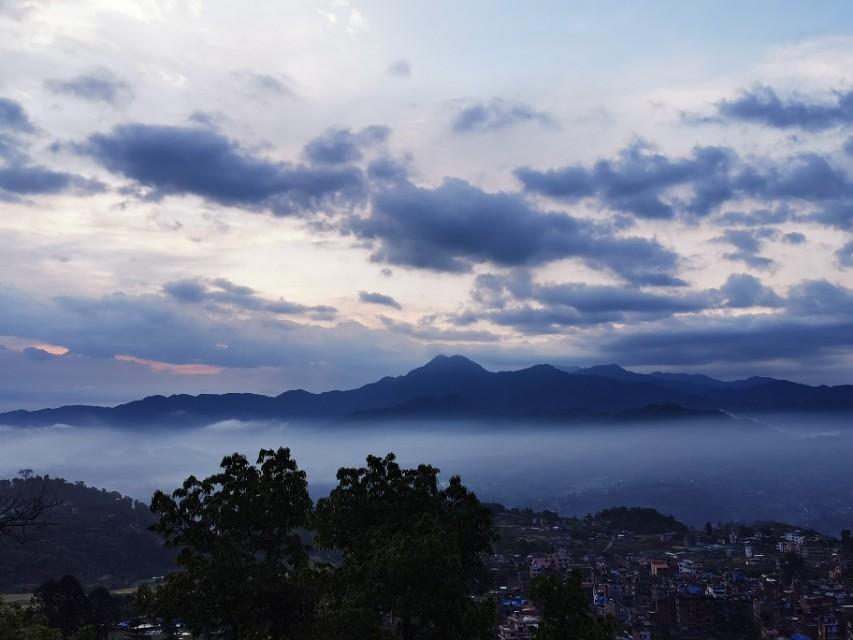 尼泊尔帕平圣地