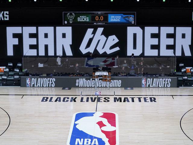 勒布朗等众多NBA球员纷纷声援雄鹿,声讨种族主义