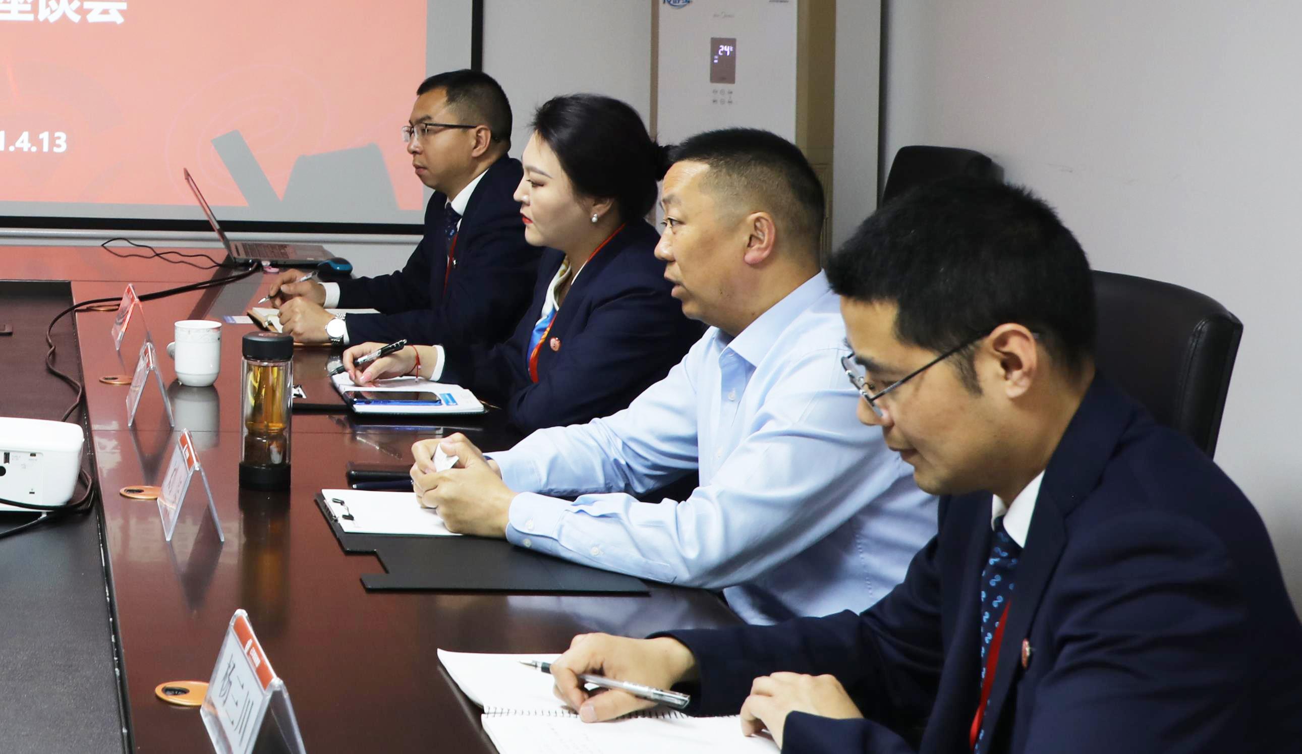 吉航民机分公司总经理刘志宏一行莅临云华教育集团考察交流