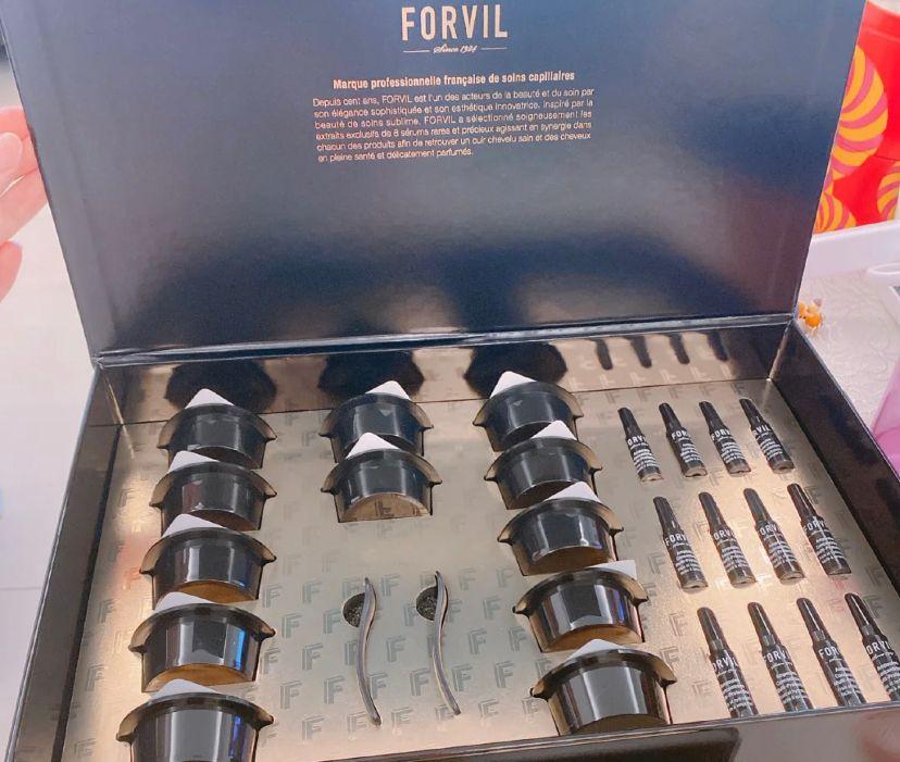 护发秘籍丨FORVIL温莎森林鱼子酱安瓶发膜,氛围感女孩养成记