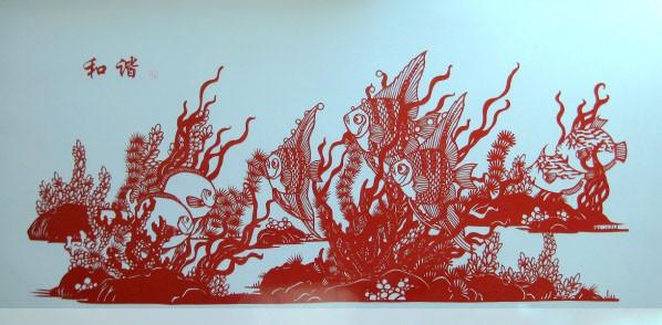 精美的剪纸艺术作品欣赏