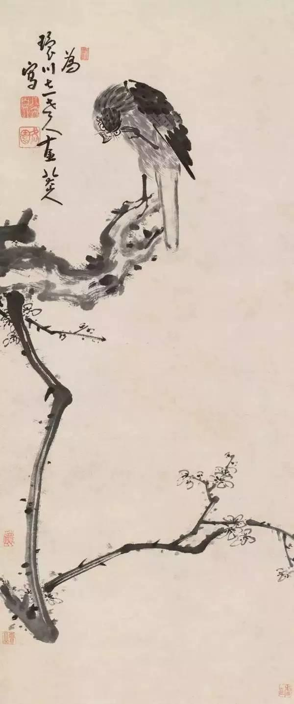 八大山人的画为什么好?来看看他的这些花鸟作品吧