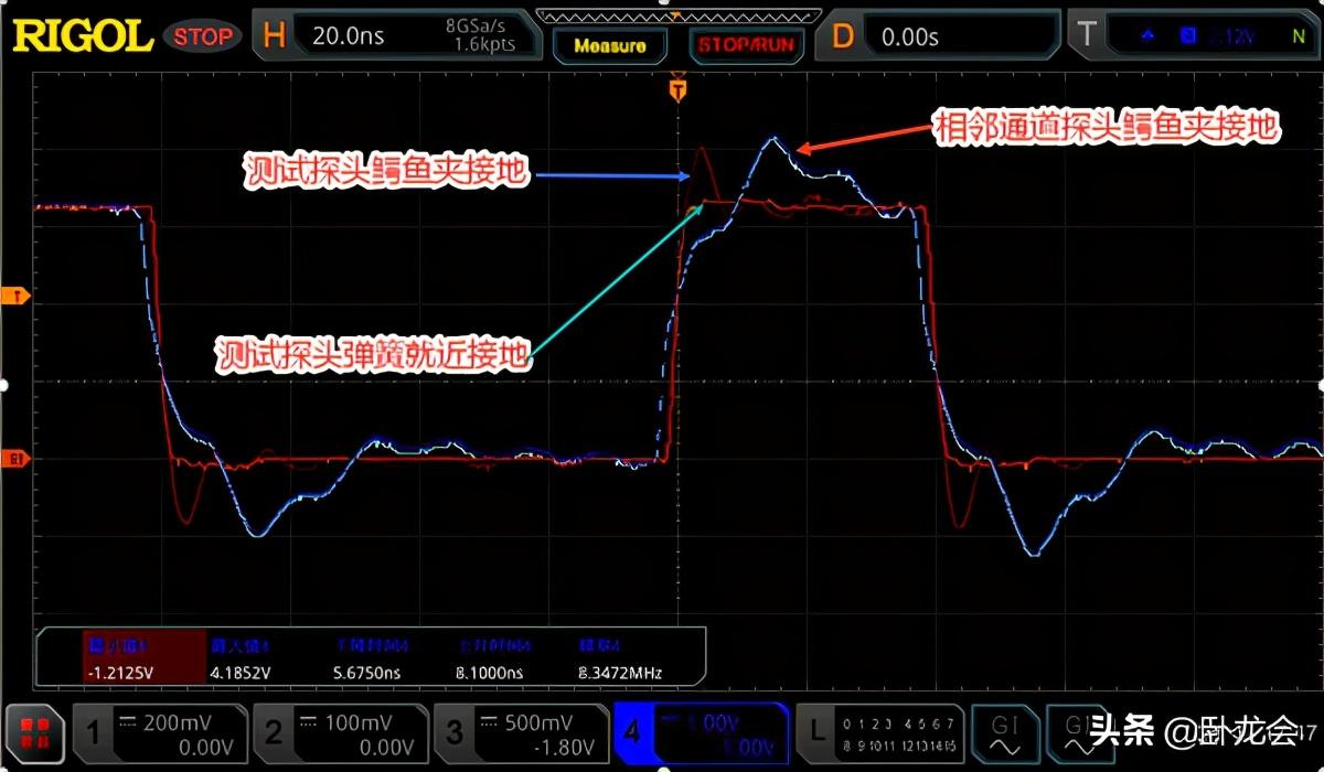 信号波形测出来有问题?竟是示波器接地探头接错了,不能这么瞎搞