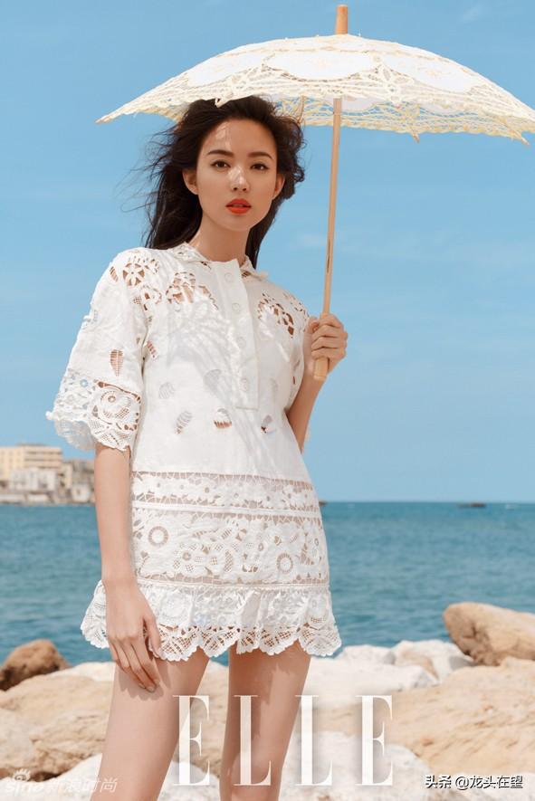从张梓琳《ELLE》杂志封面看时尚潮流
