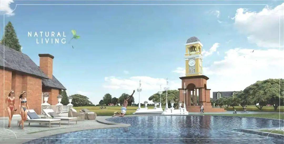 芭提雅复古英式风情别墅丨布里斯托小镇Bristol Park