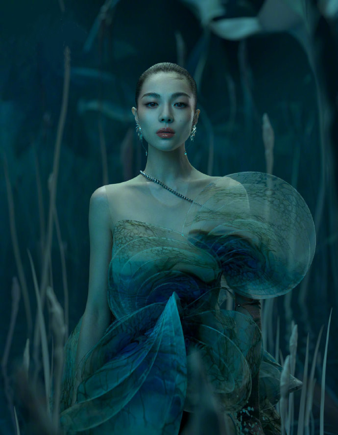 名门泽佳:钟楚曦镜花水月大片,美人与灵兽电影质感效果梦幻灵动