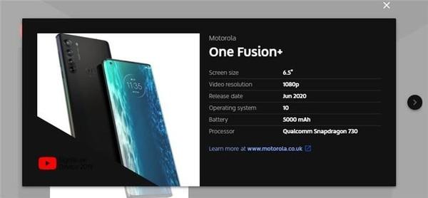 骁龙730/市场价2300 摩托罗拉手机全新升级中档系列产品公布