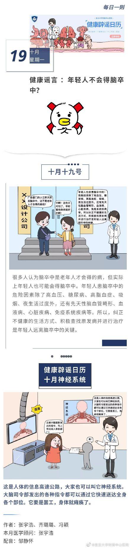 健åo・辟谣日历 å1′è½»äoo不会得脑卒ä¸-?