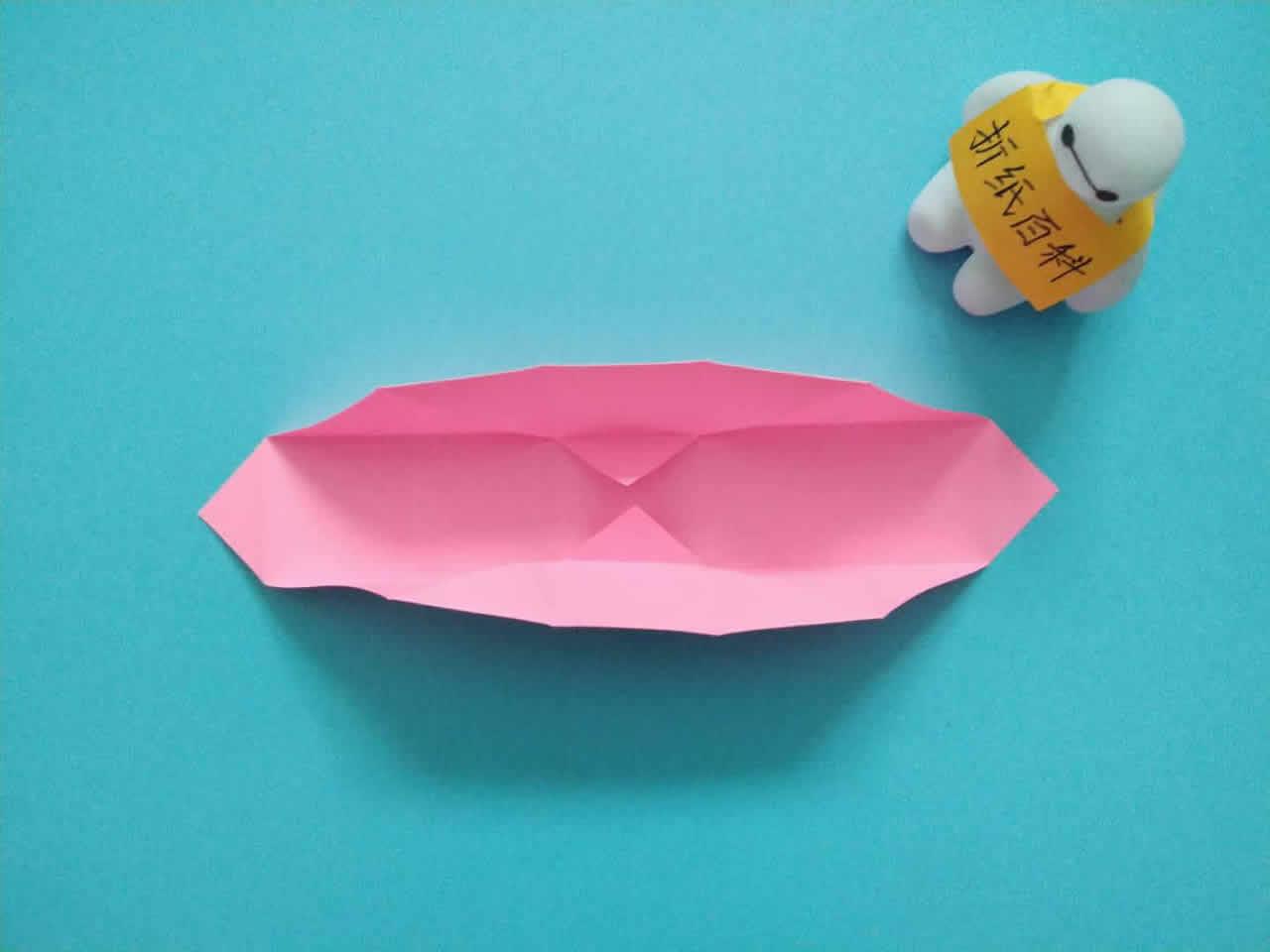 教你折纸方形带盖礼品收纳盒,简单又漂亮,手工折纸图解教程 家务 第4张