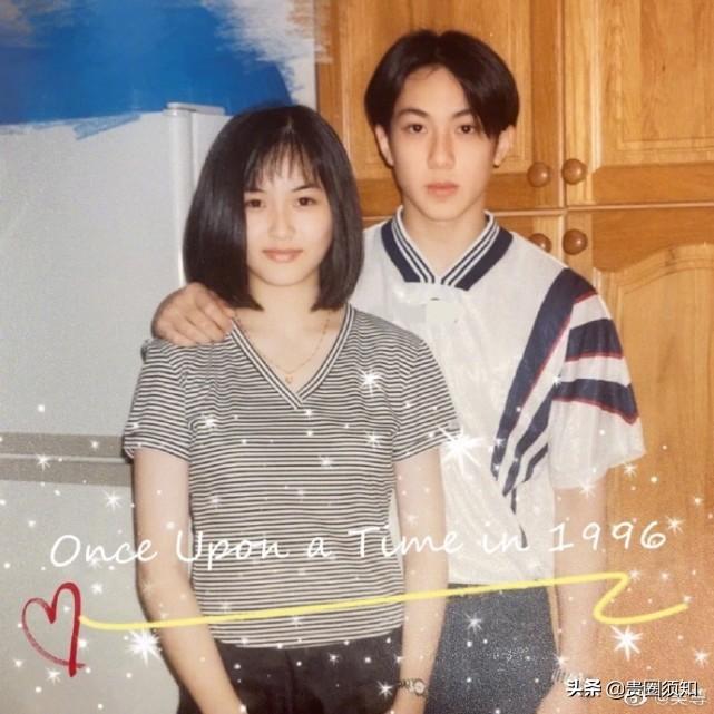 吳尊發文慶祝戀愛紀念日,夫妻年輕顏值絕配,攜手25年甜蜜如一