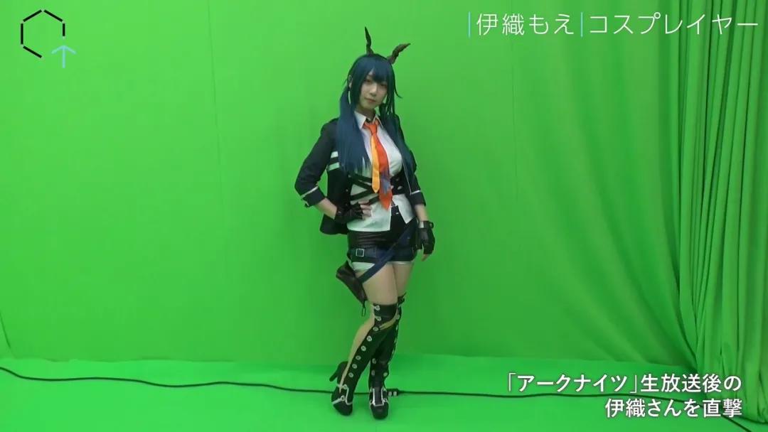 日本Coser伊織萌被人戲稱長得像藏狐,lsp喜歡的可是她的身材啊
