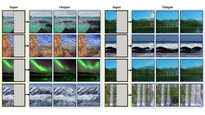 CMU 提出以 GAN 逆映射实现多样化的图像超级补全
