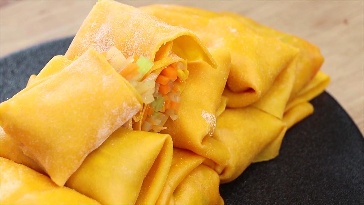 早餐不知道吃什么,试试用南瓜做,不油炸不用煎,健康营养又美味
