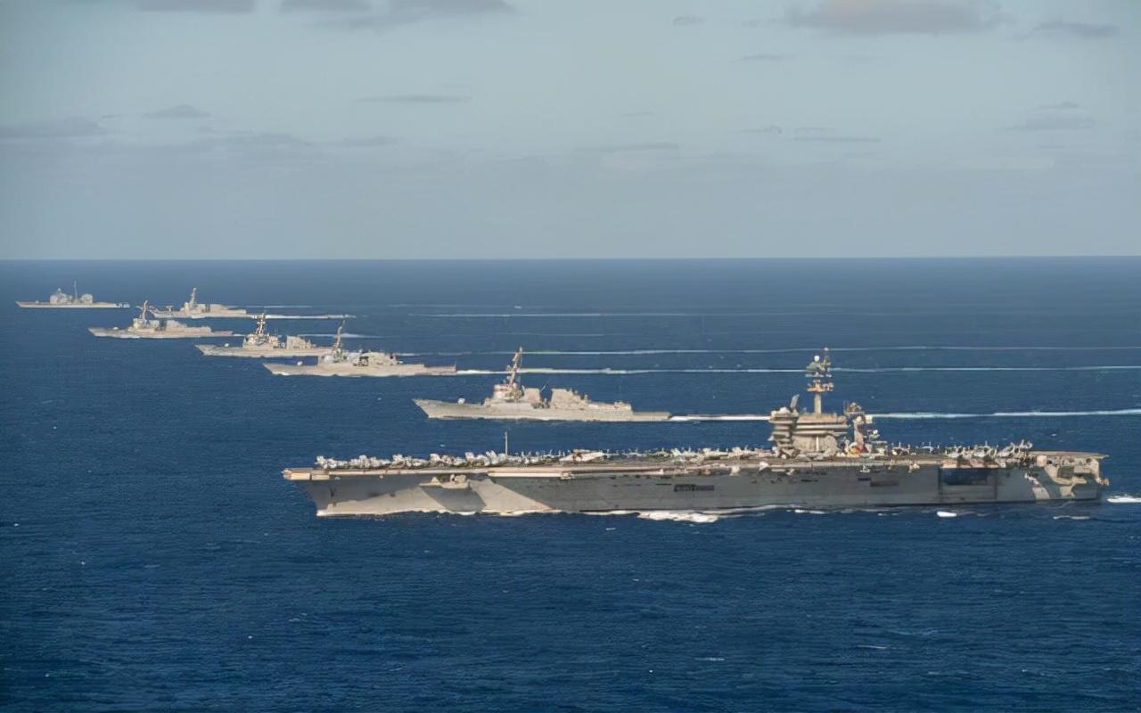 """""""美专属经济区内出现中国舰队!""""让中国教教美国什么是专业"""