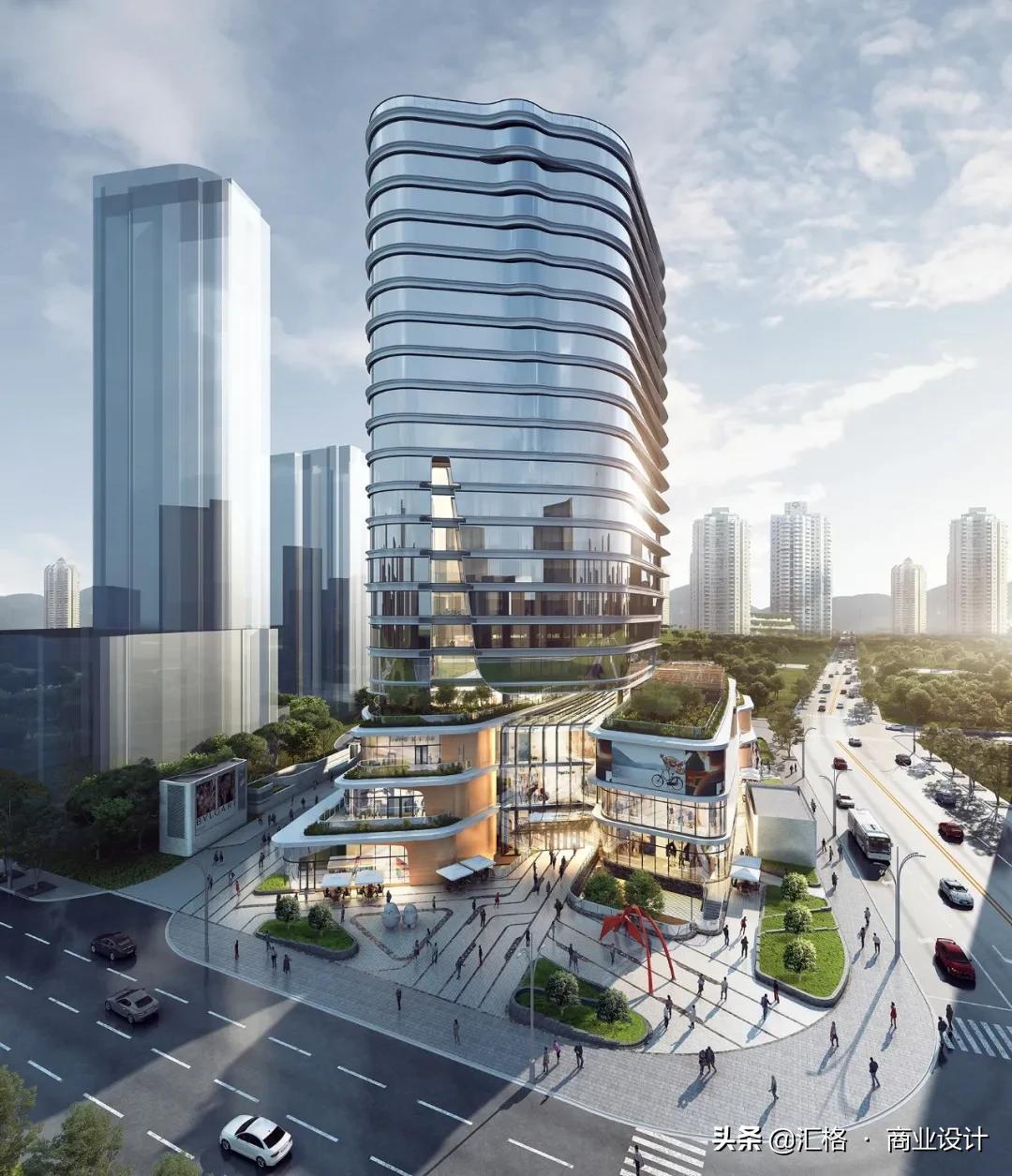 新场预告   旭辉集团长寿路项目CIFI TOWER前瞻