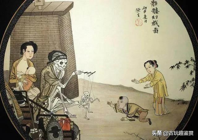"""故宫中一幅""""诡异""""画作,近看3个人,远看1个人,专家:不是画"""