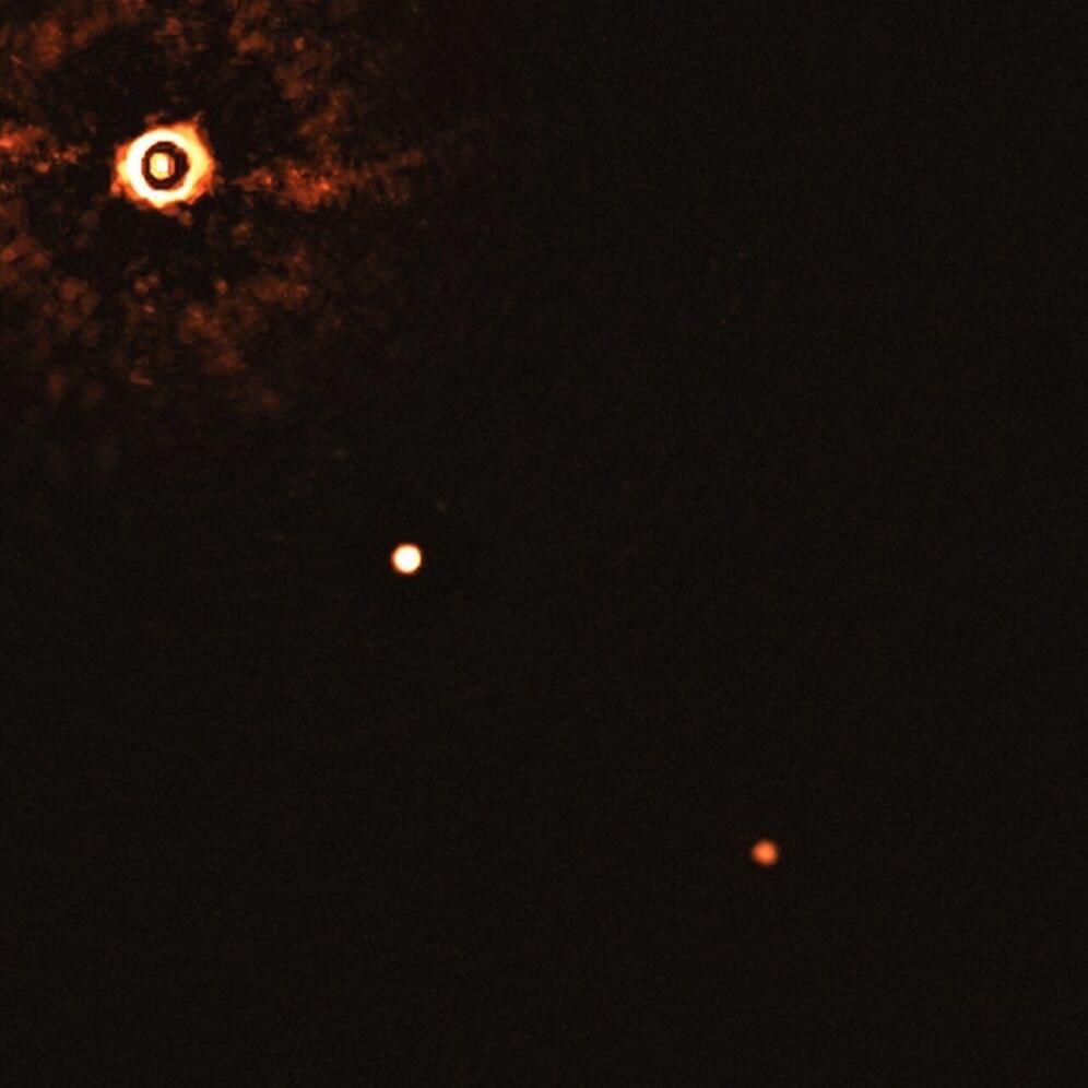 天文学家直接拍摄到两颗系外行星,绕类太阳恒星运行-第2张图片-IT新视野