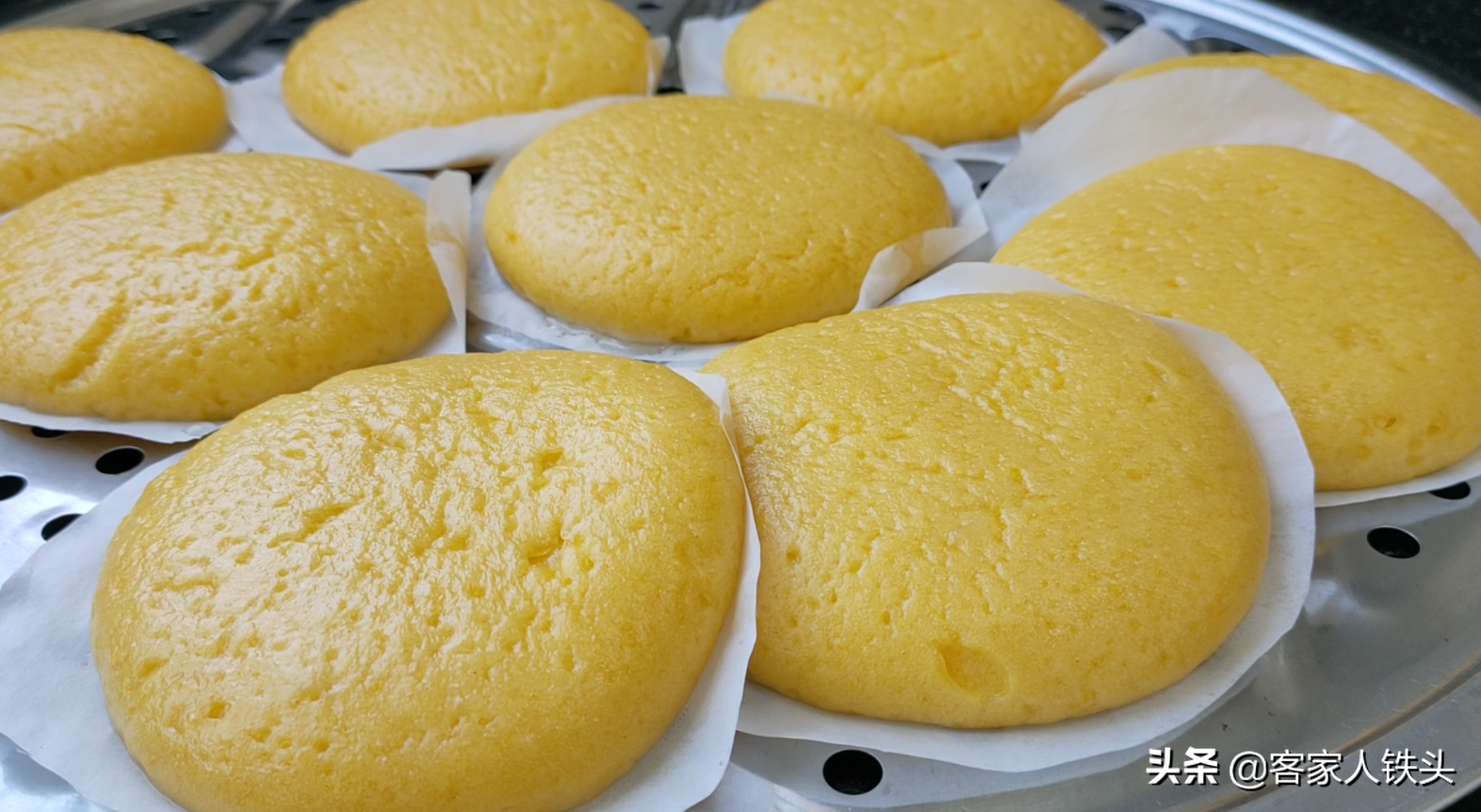 天冷吃什麼早餐好? 試試一款客家傳統的南瓜發粄,簡單營養又好吃