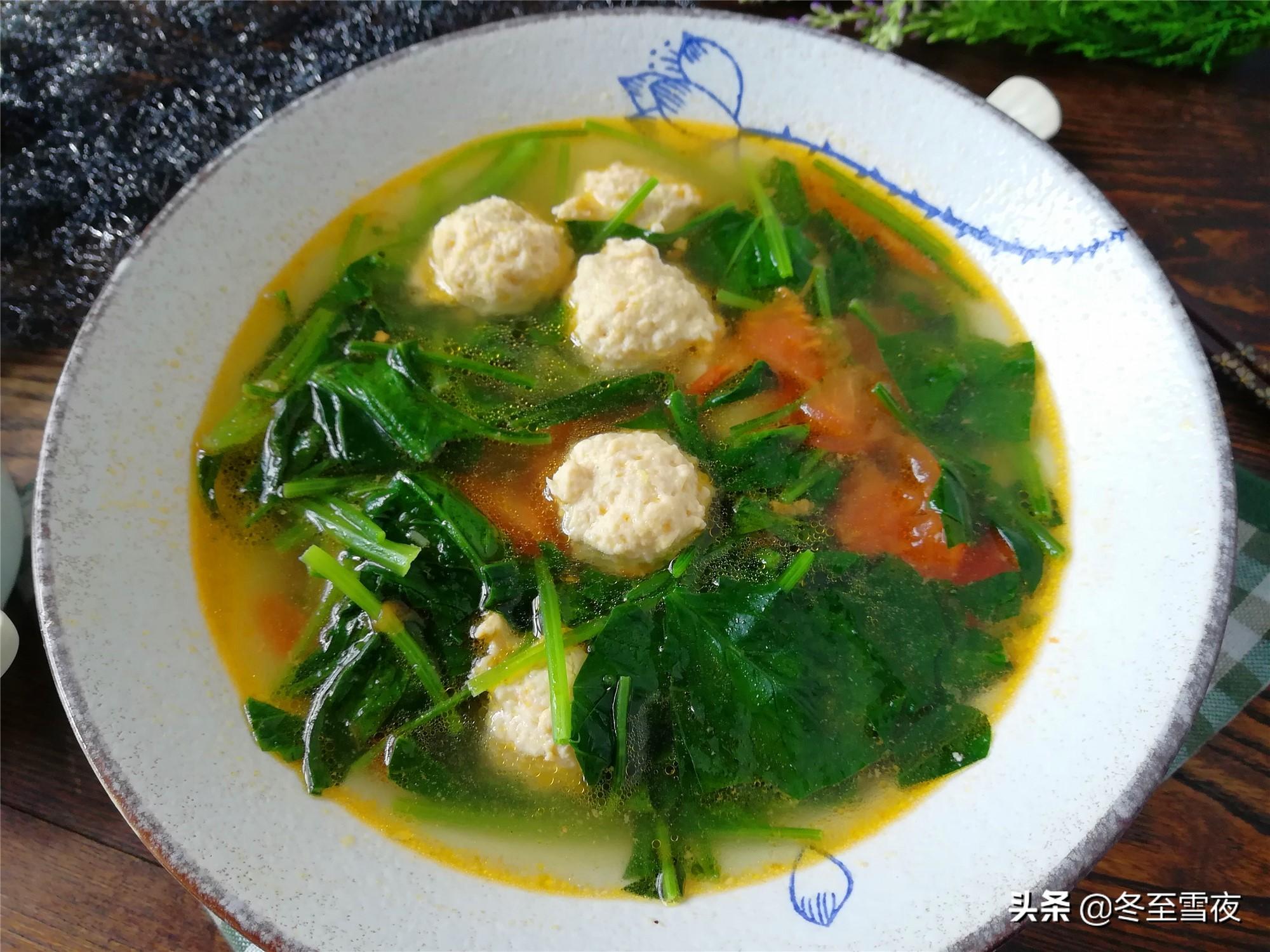春菠菜做法,鲜嫩味美,祛春燥 美食做法 第7张