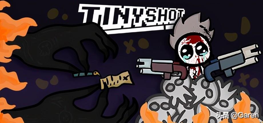 《TinyShot》:一款横版2D平面射击游戏