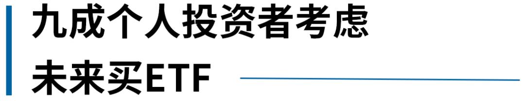 基民ETF行为大揭秘!《2020中国ETF投资人洞察报告》