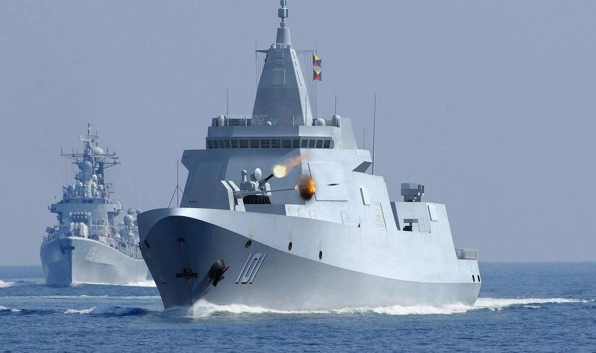 中国新巨舰专为冲撞设计?美称未做好准备!如此悲观实际背后偷着笑